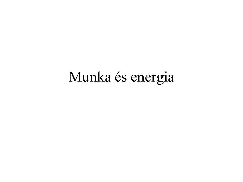 Munka és energia