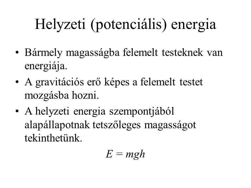 Helyzeti (potenciális) energia