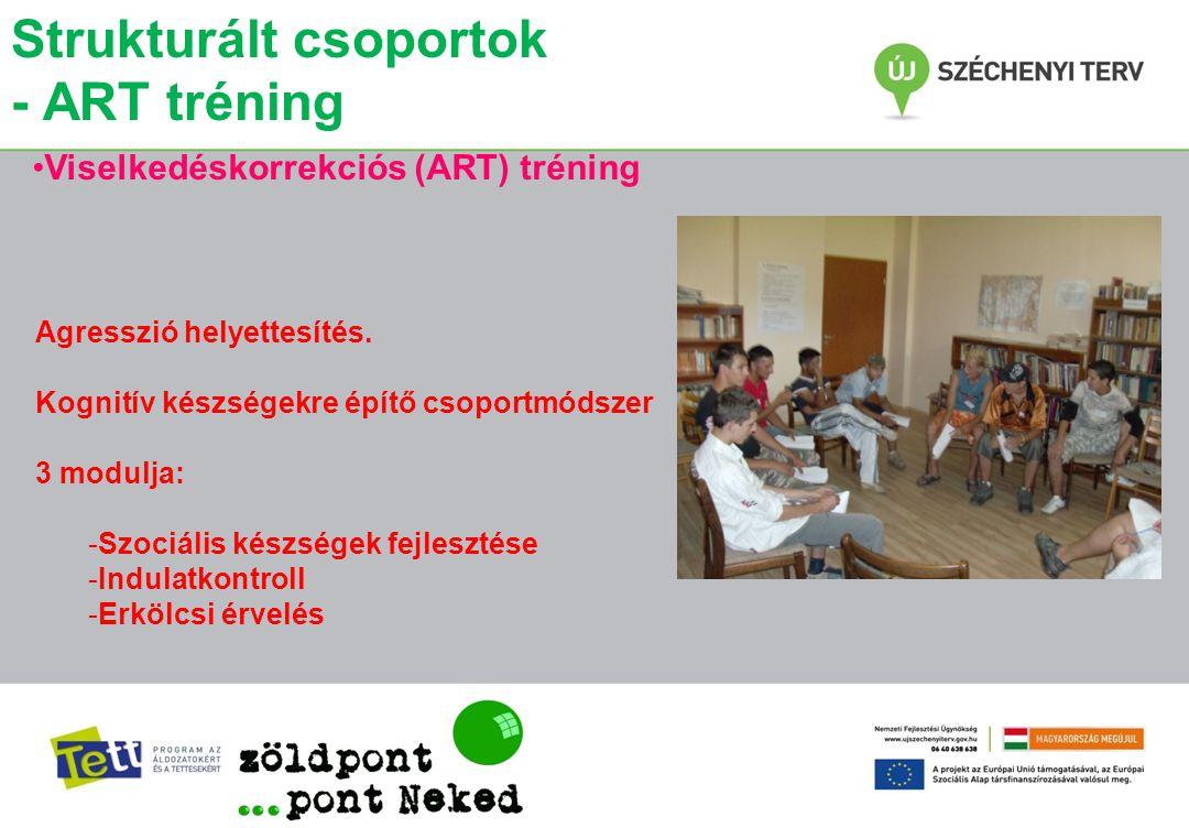 Strukturált csoportok - ART tréning