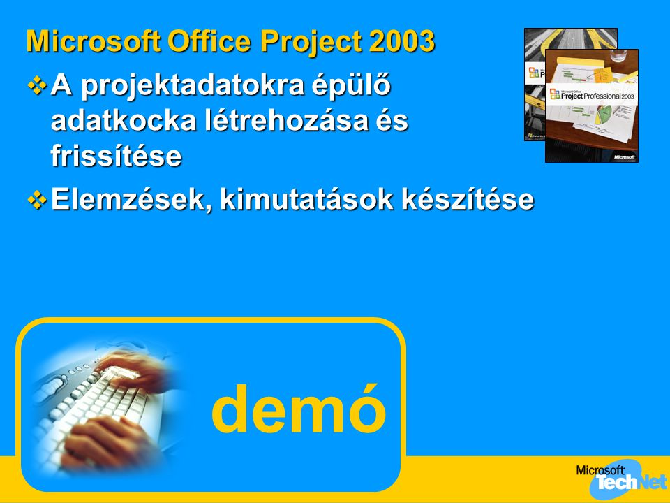 demó Microsoft Office Project 2003