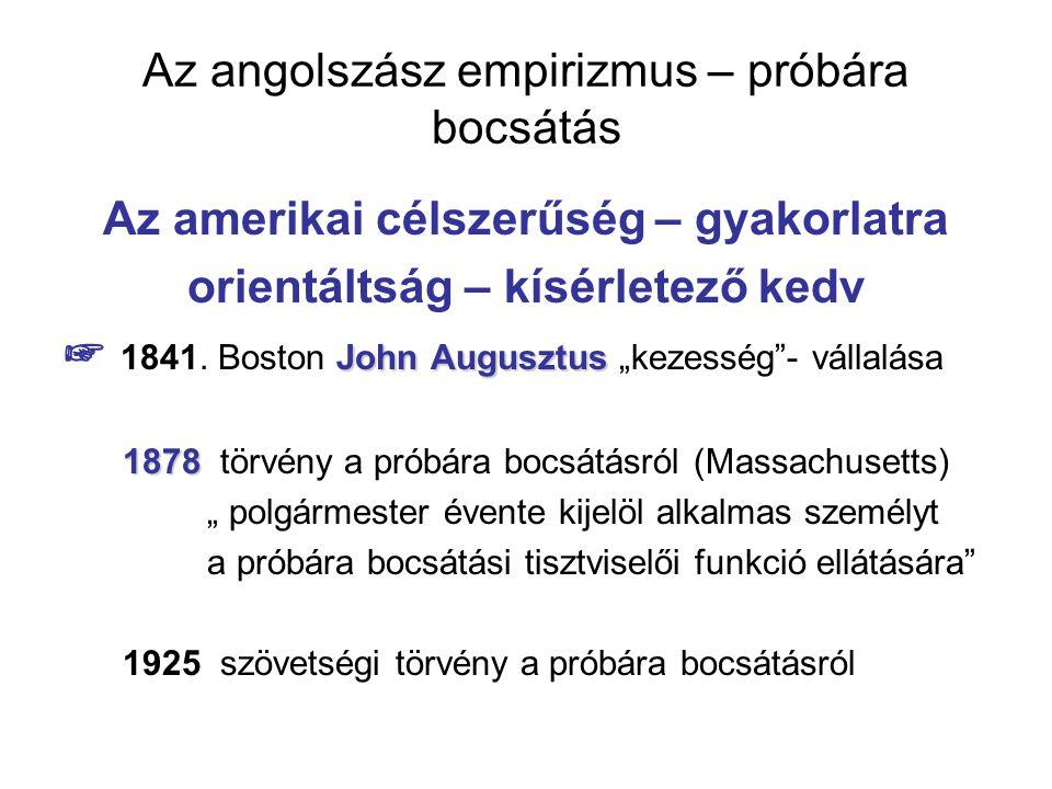 Az angolszász empirizmus – próbára bocsátás