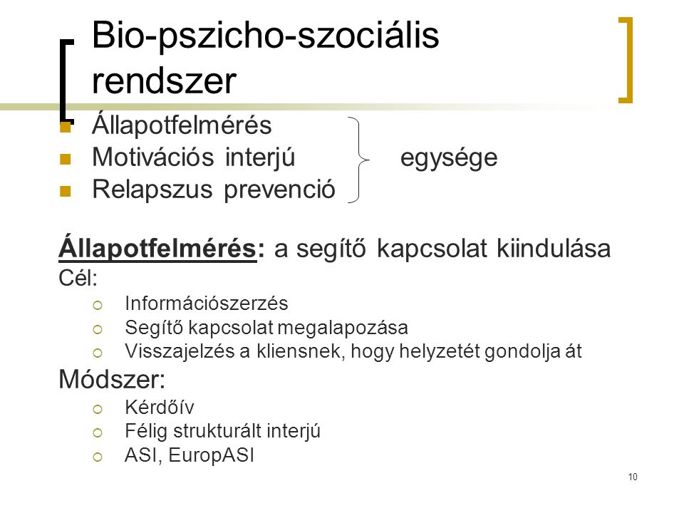 Bio-pszicho-szociális rendszer