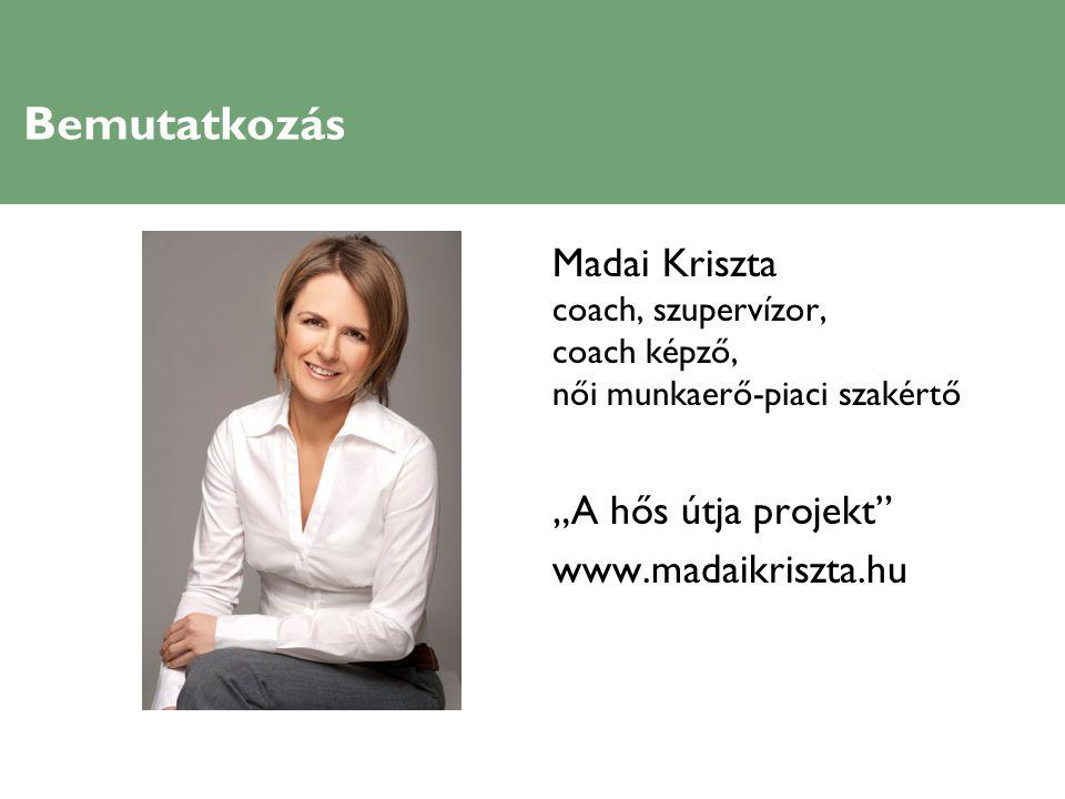 """Bemutatkozás Madai Kriszta """"A hős útja projekt www.madaikriszta.hu"""