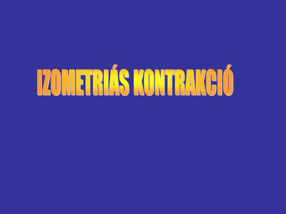 IZOMETRIÁS KONTRAKCIÓ