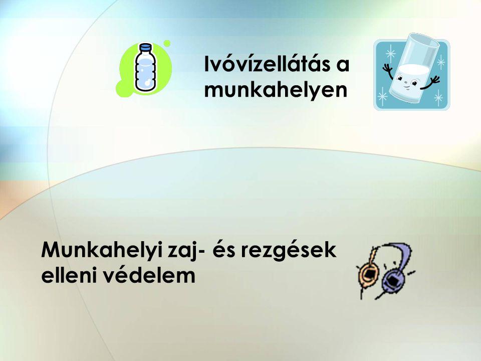 Ivóvízellátás a munkahelyen