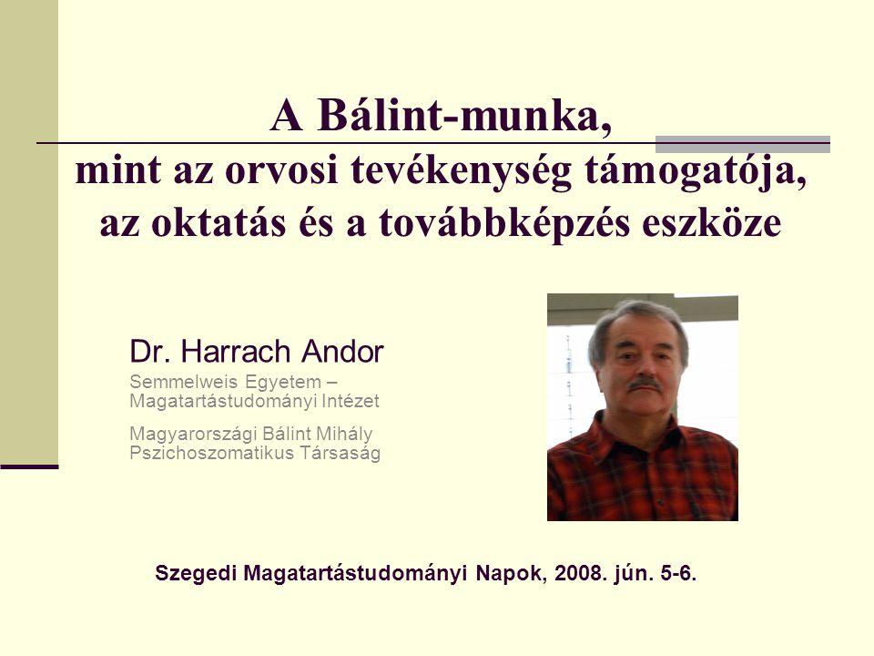Szegedi Magatartástudományi Napok, 2008. jún. 5-6.