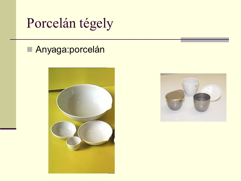 Porcelán tégely Anyaga:porcelán