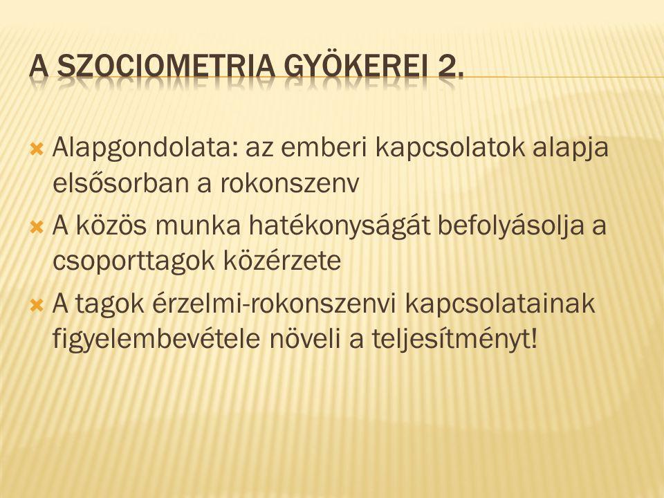 A szociometria gyökerei 2.