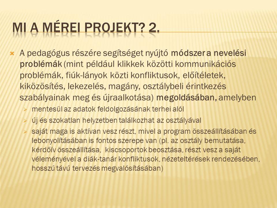 MI a mérei projekt 2.