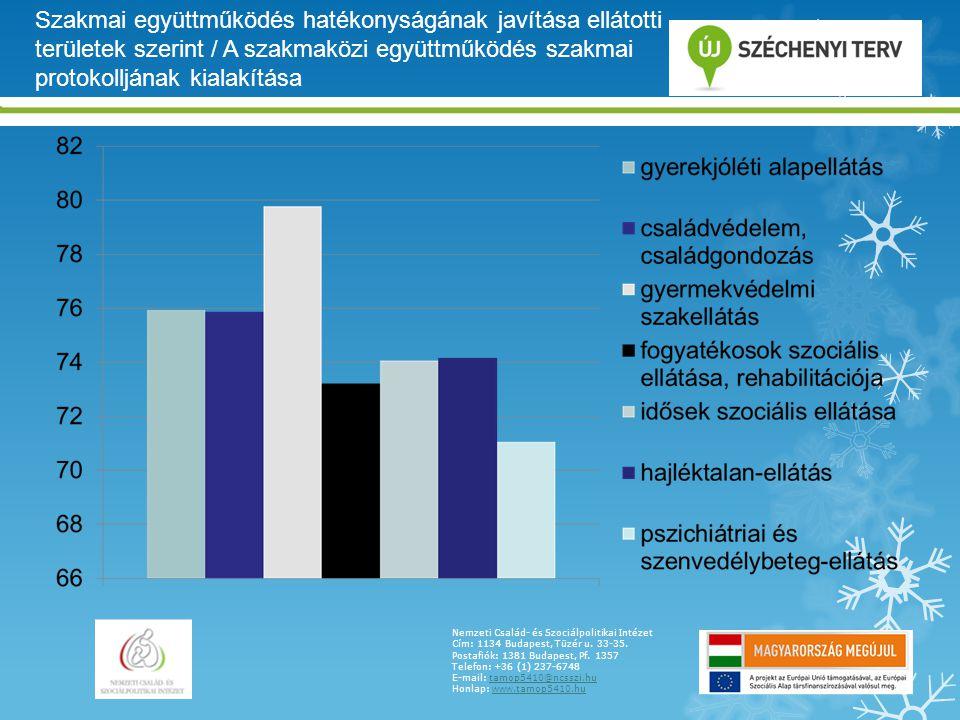 Szakmai együttműködés hatékonyságának javítása ellátotti területek szerint / A szakmaközi együttműködés szakmai protokolljának kialakítása