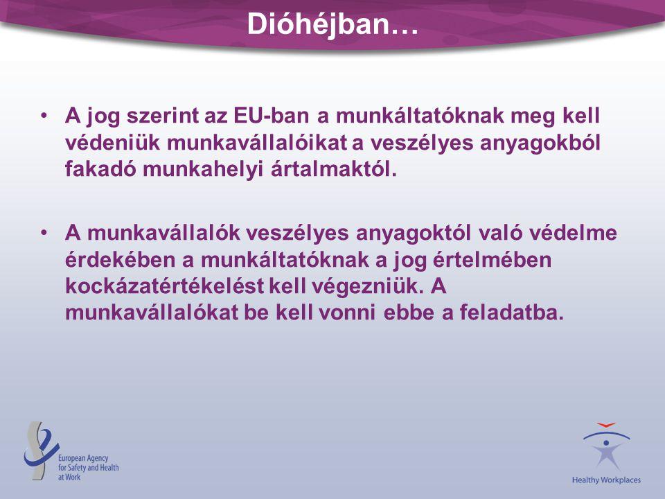 Dióhéjban… A jog szerint az EU-ban a munkáltatóknak meg kell védeniük munkavállalóikat a veszélyes anyagokból fakadó munkahelyi ártalmaktól.