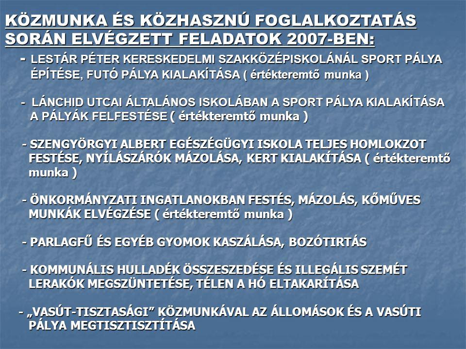 - LESTÁR PÉTER KERESKEDELMI SZAKKÖZÉPISKOLÁNÁL SPORT PÁLYA