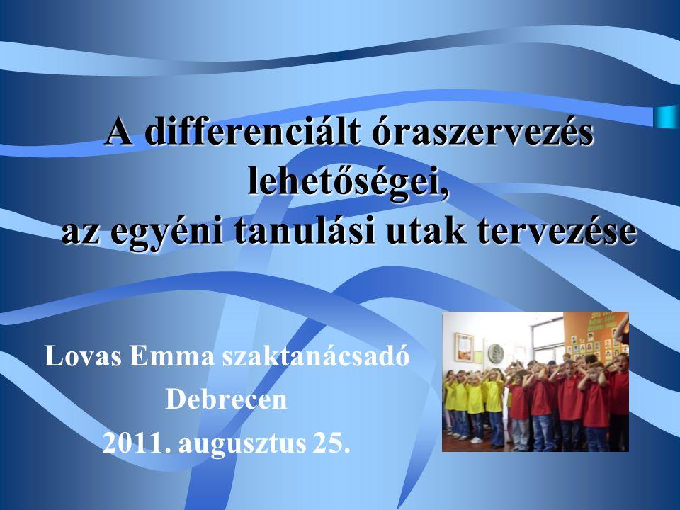 Lovas Emma szaktanácsadó Debrecen 2011. augusztus 25.