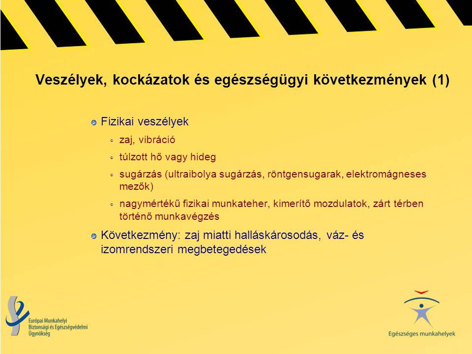 Veszélyek, kockázatok és egészségügyi következmények (1)