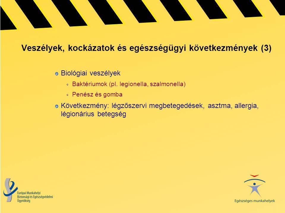Veszélyek, kockázatok és egészségügyi következmények (3)