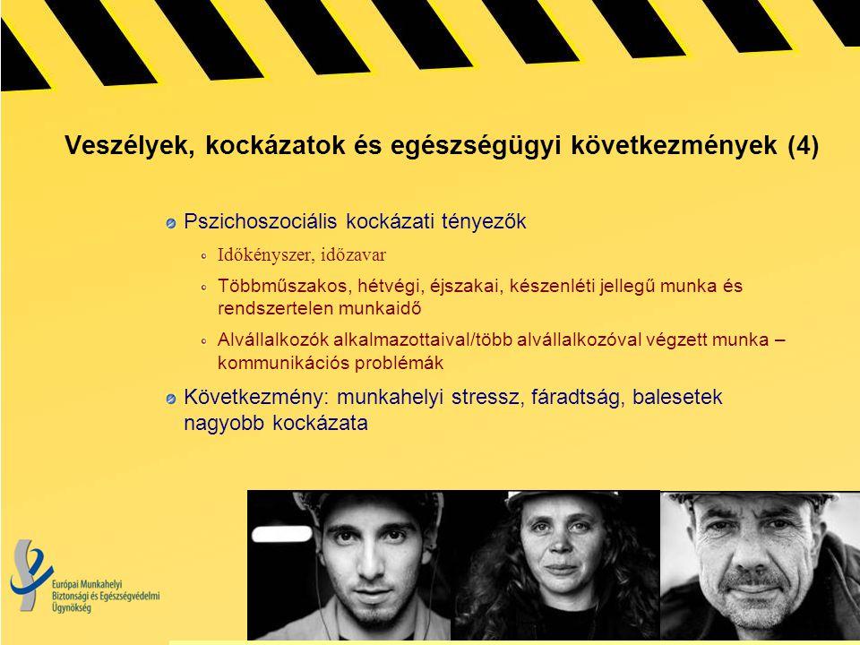 Veszélyek, kockázatok és egészségügyi következmények (4)