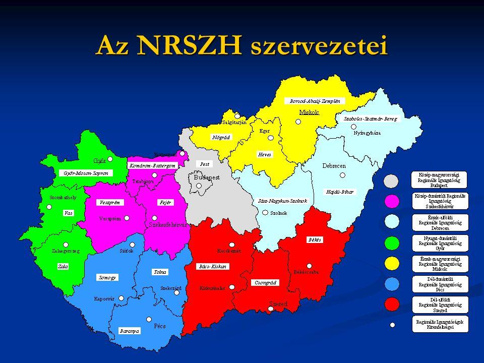 Az NRSZH szervezetei