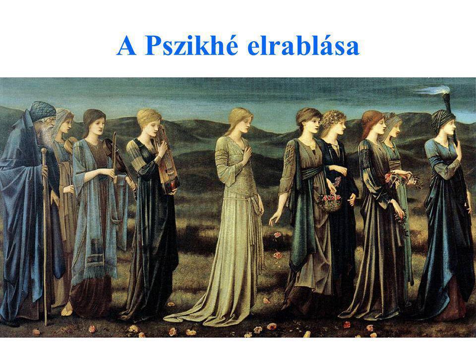 A Pszikhé elrablása Edward Burne Jones: Psziché esküvője, 1895