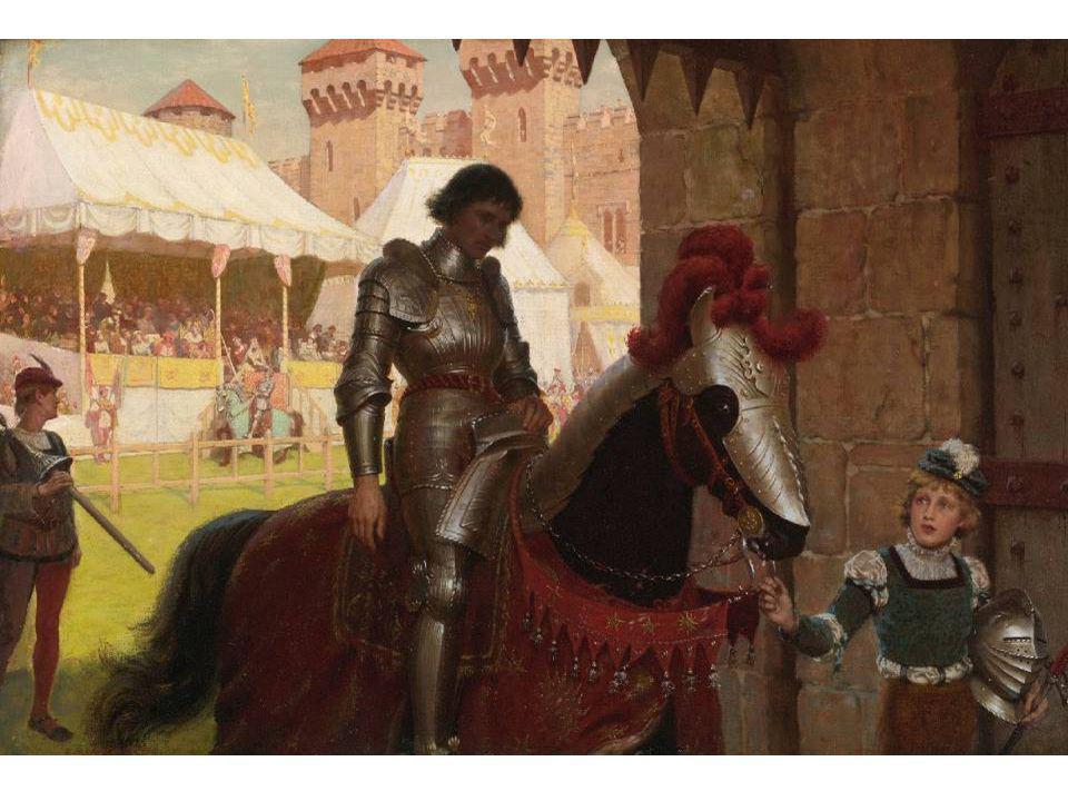 Edmund Leighton - Vanquished, 1884