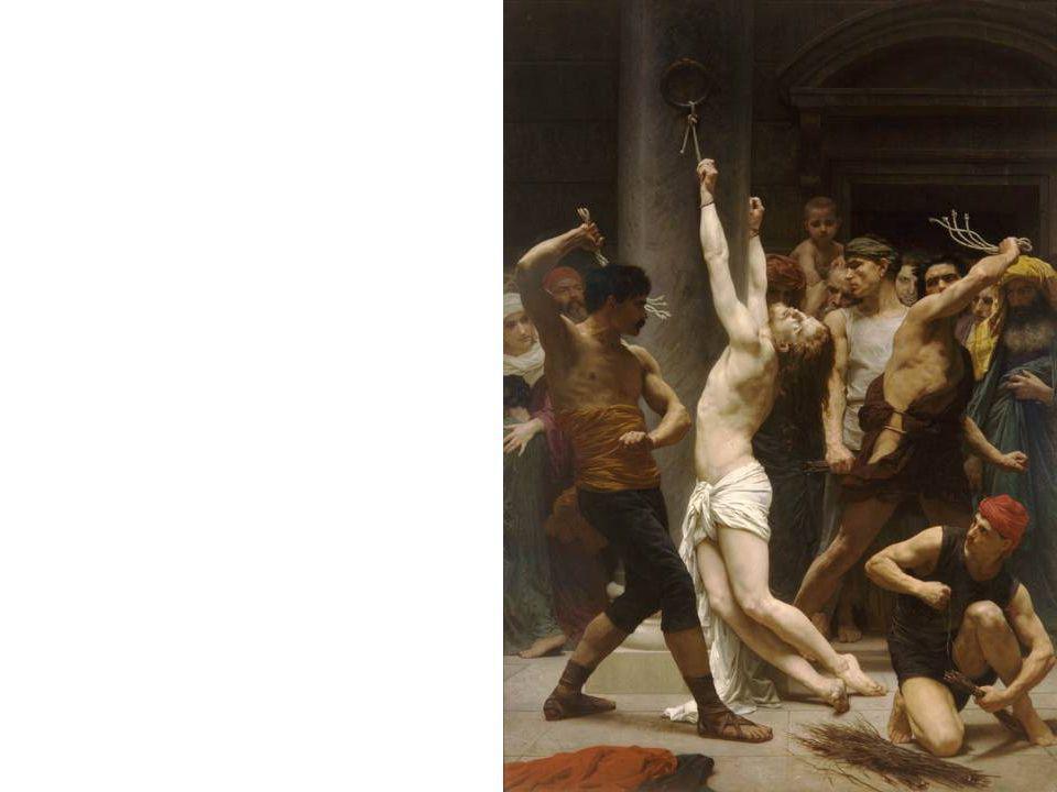 Bouguereau - Krisztus urunk megkorbácsolása, 1890
