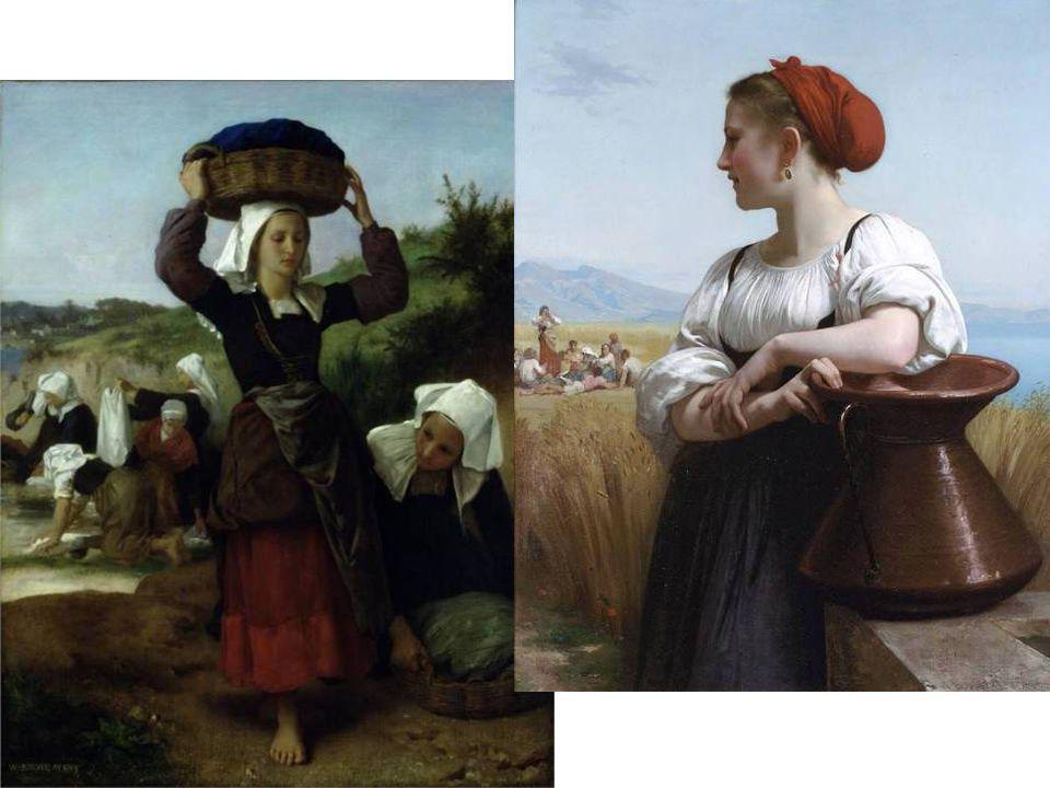 Bouguereau - Fouesnant-i mosó nők, 1869