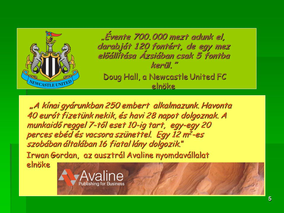Doug Hall, a Newcastle United FC elnöke