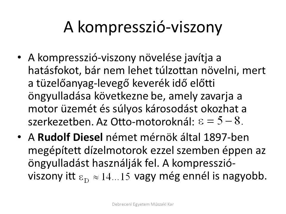 A kompresszió-viszony