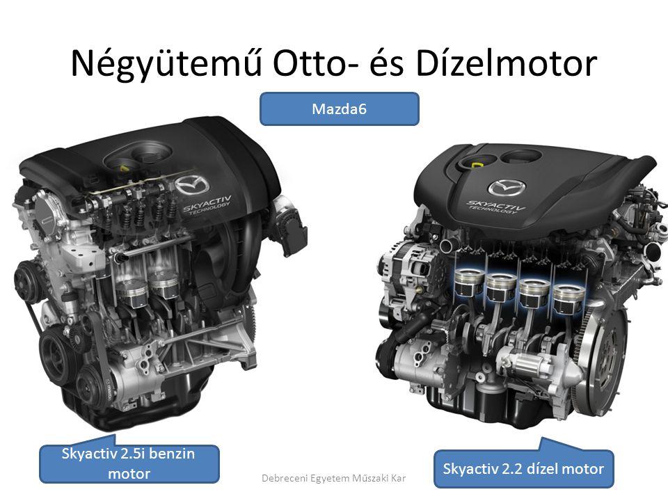 Négyütemű Otto- és Dízelmotor