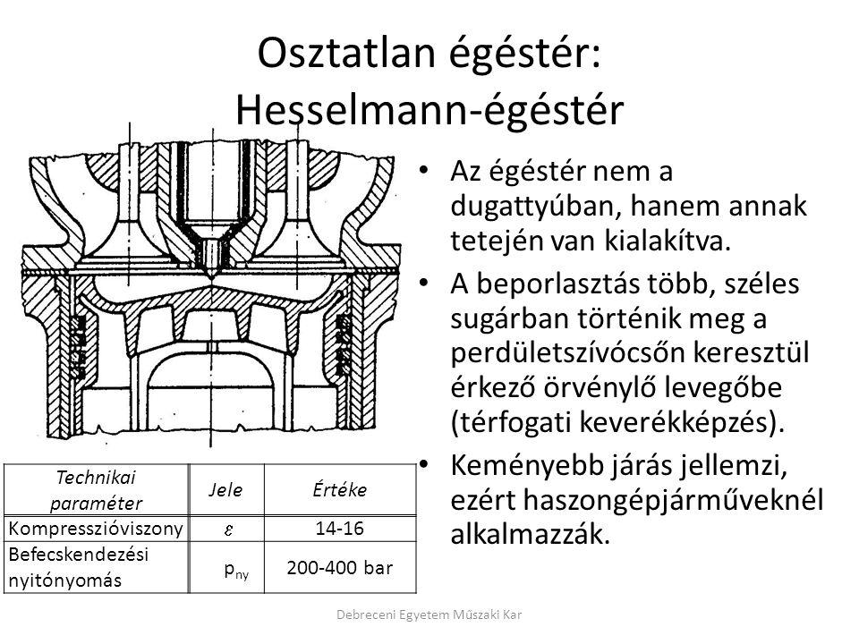 Osztatlan égéstér: Hesselmann-égéstér