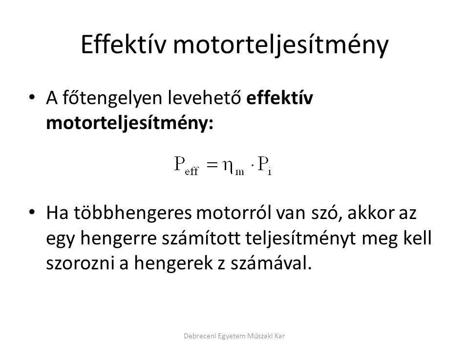 Effektív motorteljesítmény