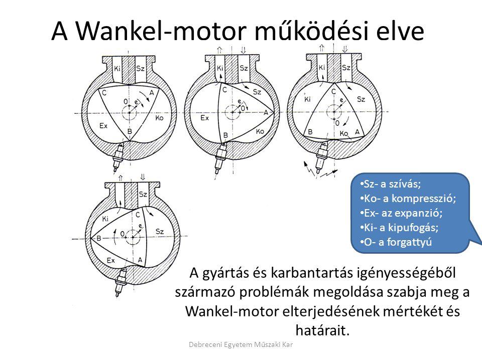 A Wankel-motor működési elve