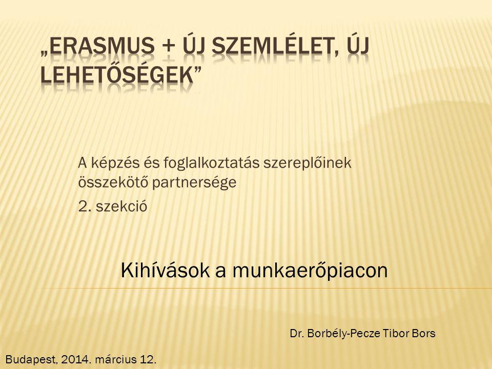 """""""Erasmus + Új szemlélet, új lehetőségek"""