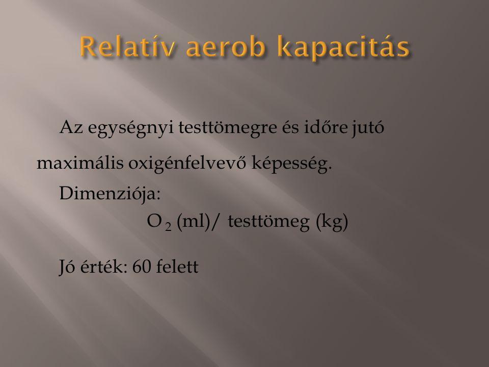 Relatív aerob kapacitás