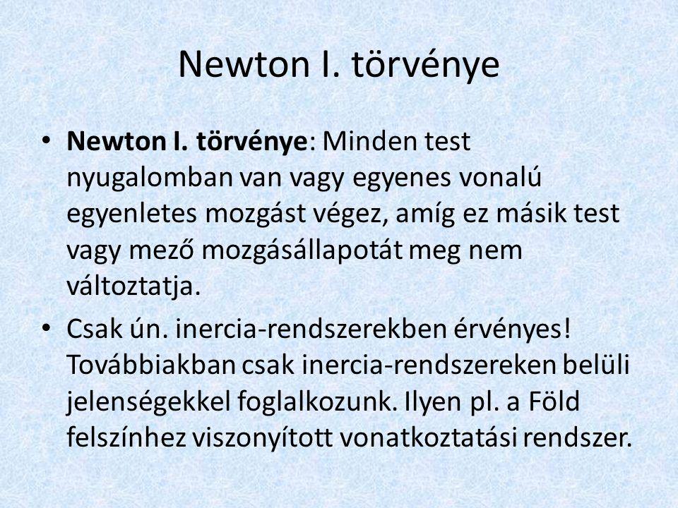 Newton I. törvénye