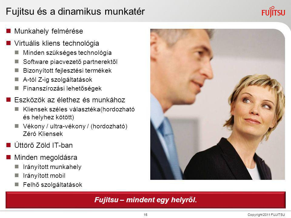 Fujitsu Innovációk – Néhány kiemelt termék