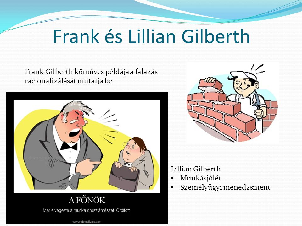 Frank és Lillian Gilberth