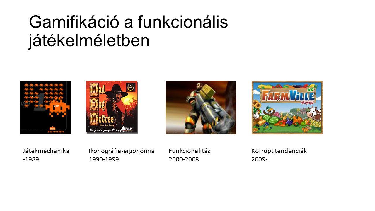 Gamifikáció a funkcionális játékelméletben