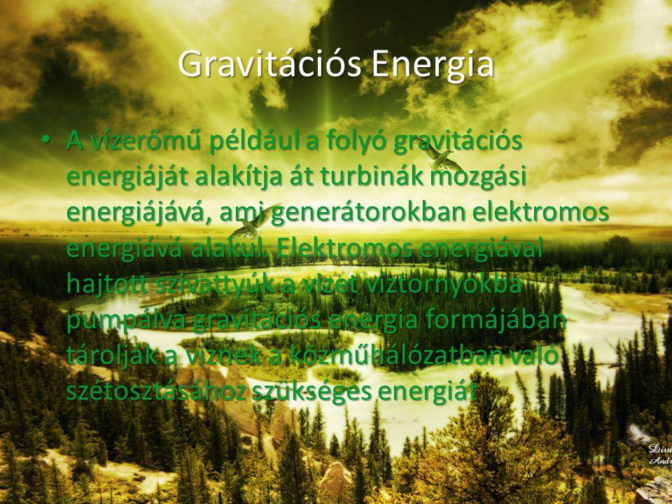 Gravitációs Energia