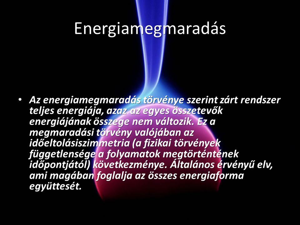 Energiamegmaradás