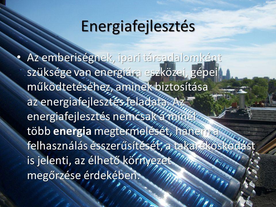 Energiafejlesztés