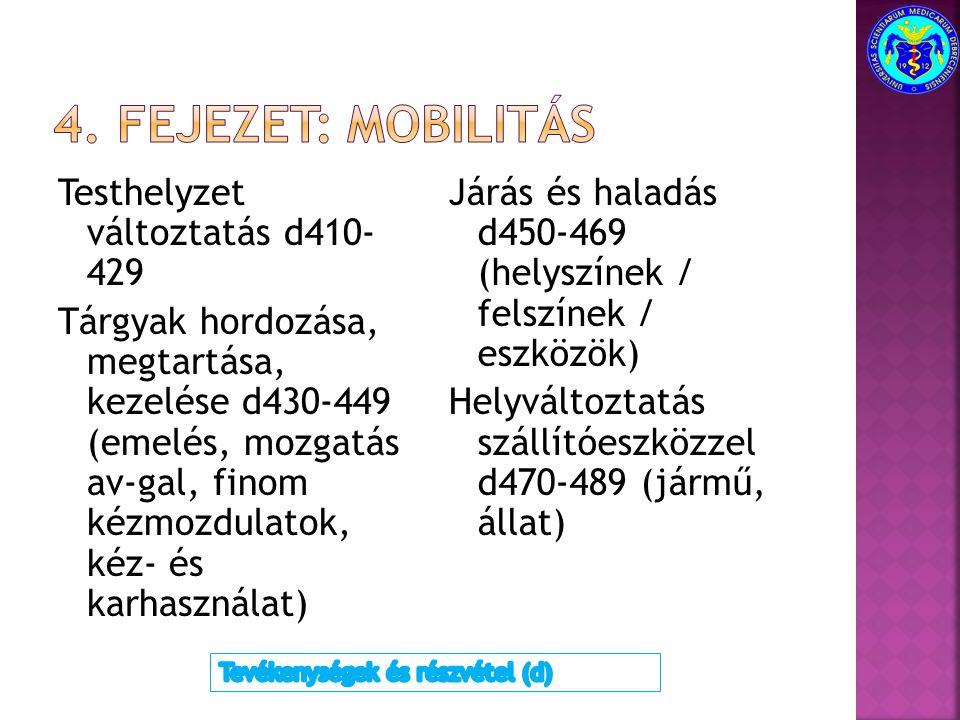 4. fejezet: mobilitás