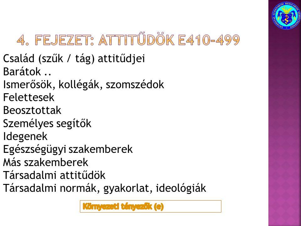4. Fejezet: attitűdök e410-499