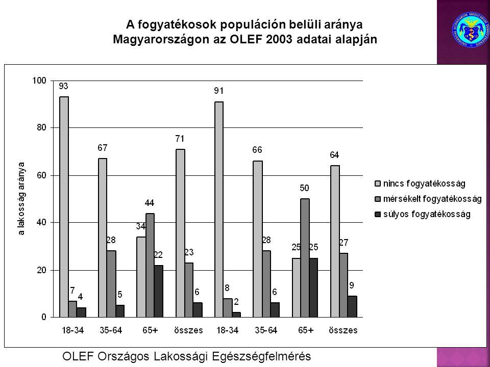 A fogyatékosok populáción belüli aránya