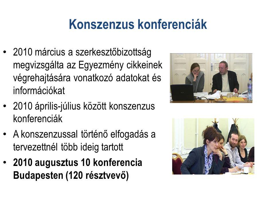 Konszenzus konferenciák