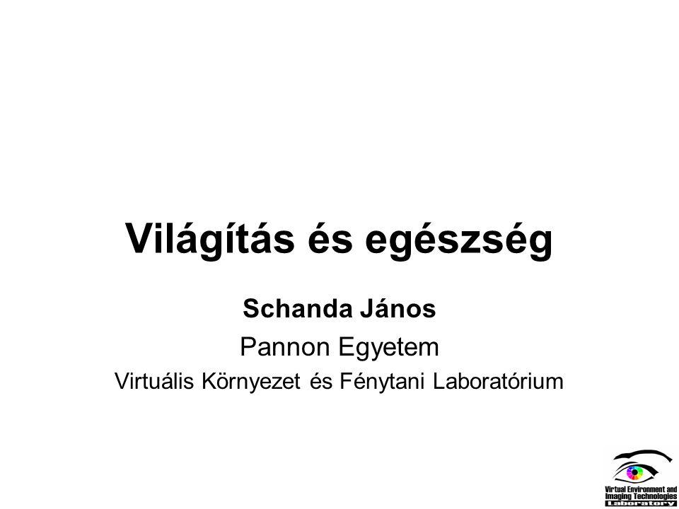 Virtuális Környezet és Fénytani Laboratórium