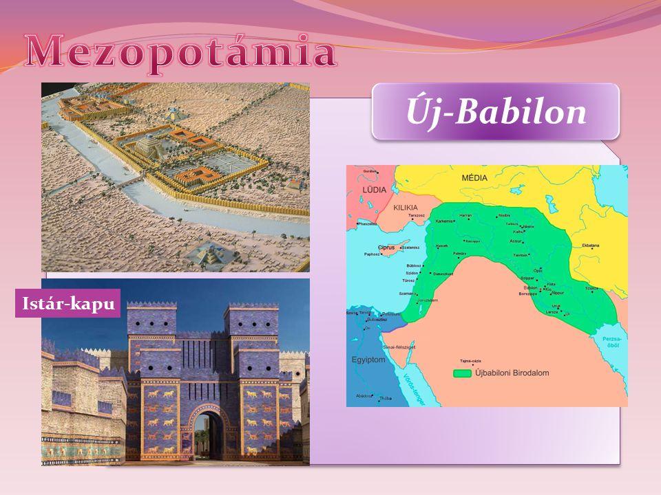 Mezopotámia Új-Babilon Istár-kapu