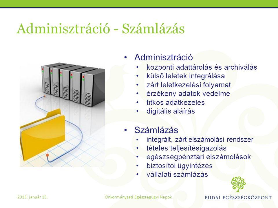 Adminisztráció - Számlázás