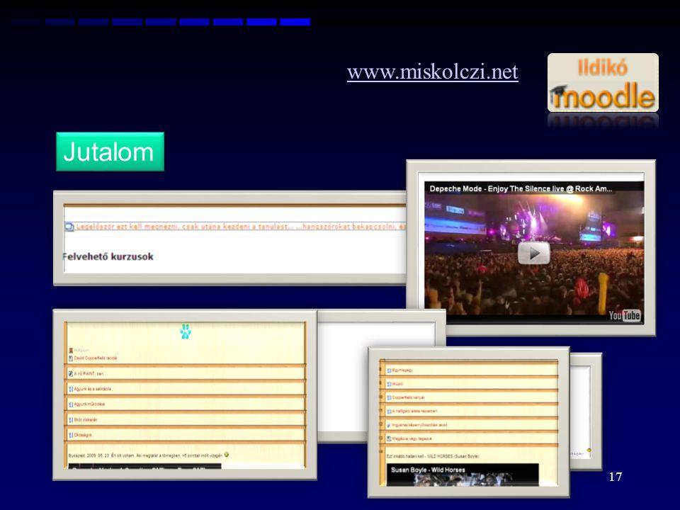 www.miskolczi.net Jutalom