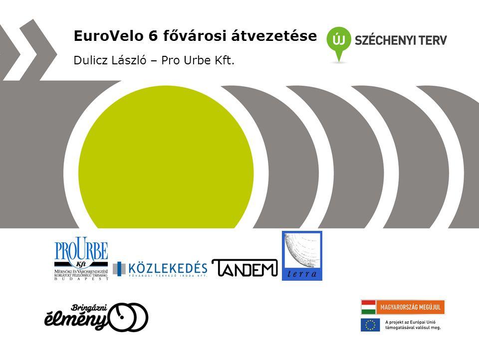 EuroVelo 6 fővárosi átvezetése