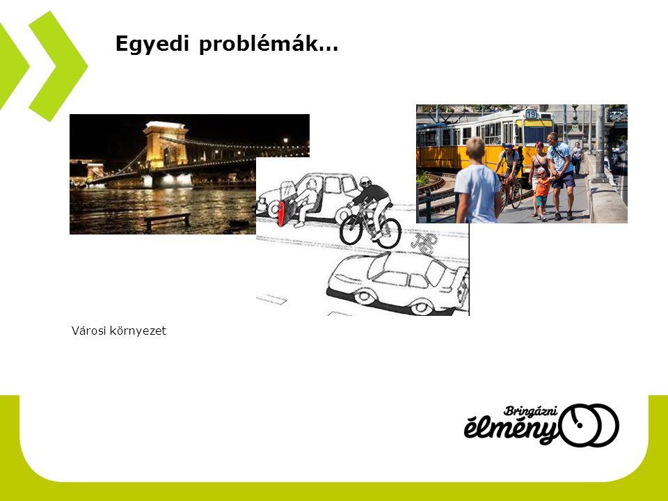 Egyedi problémák… Városi környezet